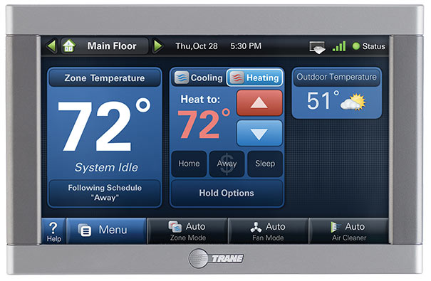 Trane ComfortLink™ II Digital Thermostat